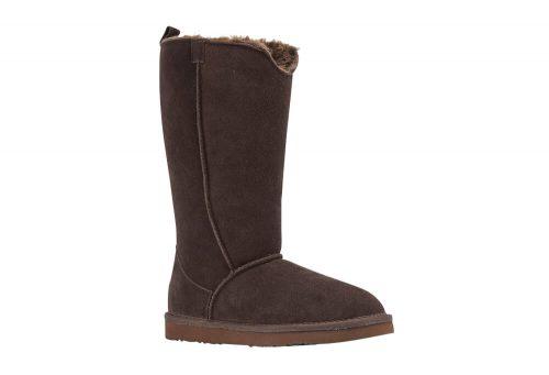 LAMO Bellona Tall Sheepskin Boots - Women's - chocolate, 9