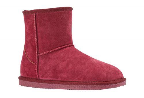 "LAMO Classic 6"" Suede Boots - Women's - burgundy, 11"