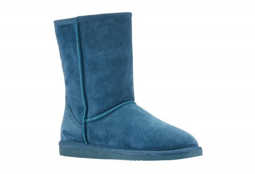 """LAMO Classic 9"""" Suede Boots - Women's - teal, 7"""