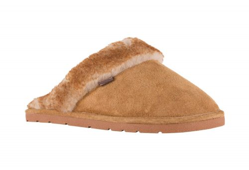 LAMO Suede Scuff - Women's - chestnut, medium
