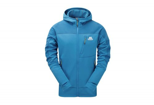 Mountain Equipment Croz Hooded Jacket - Men's - lagoon blue, large