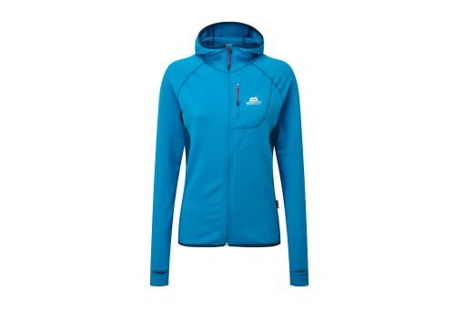 Mountain Equipment Eclipse Hooded Jacket - Women's - lagoon blue/marine, 10