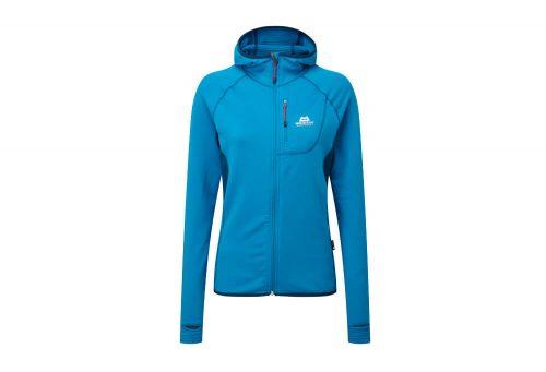 Mountain Equipment Eclipse Hooded Jacket - Women's - lagoon blue/marine, 6