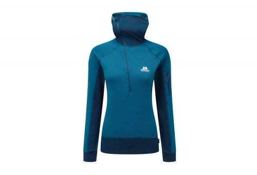 Mountain Equipment Eclipse Hooded Zip T - Women's - lagoon blue/marine, 8