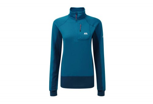 Mountain Equipment Eclipse Zip T - Women's - lagoon blue/marine, 10