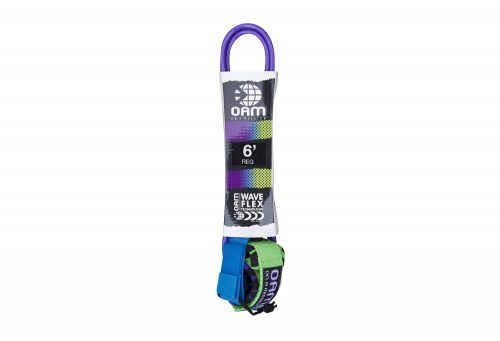 OAM Regular 6' Leash - purple giraffe fade, one size