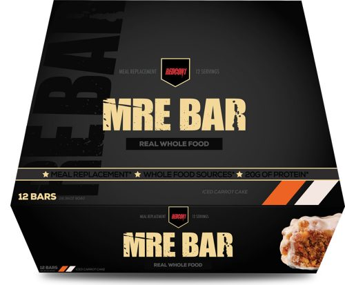 RedCon1 MRE Bar - 12 Bars Iced Carrot Cake