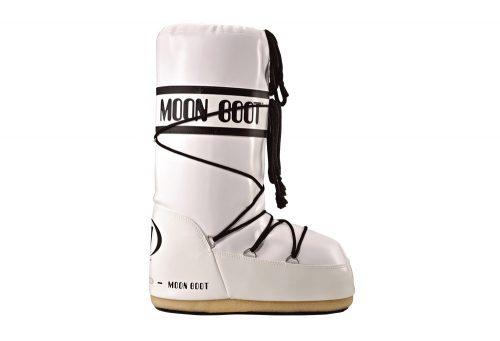 Tecnica Vinyl Moon Boots - Unisex - white/black, 39/41