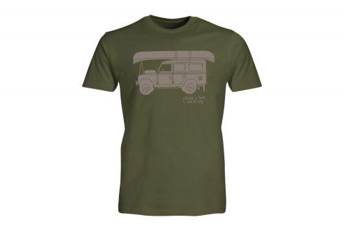 Wilder & Sons Defender - Go Your Own Way Tee - Men's - military green, medium