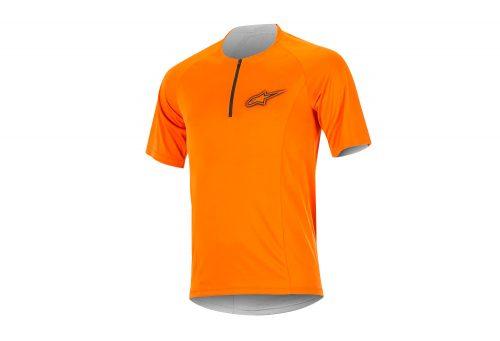 alpinestars Rover 2 SS Jersey - Men's - bright orange/dark shadow, small